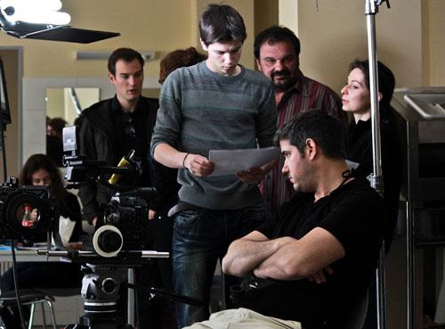 Short film shooting